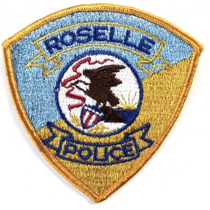 US Roselle Police Cloth Patch