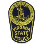 US Virginia State Police Cloth Patch