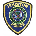 US City Of Houston Police Cloth Patch