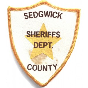 US Sedgwick County Sheriff`s Dept. Cloth Patch