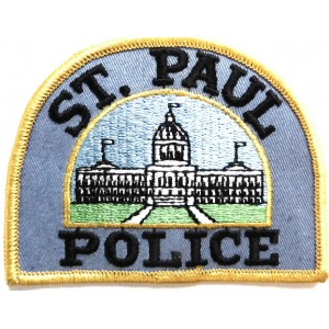 US St. Paul Police Cloth Patch
