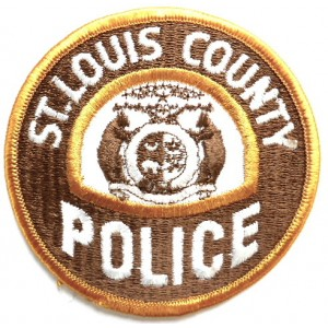 US St. Louis County Police Cloth Patch