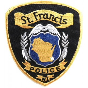 US St. Francis Police Cloth Patch