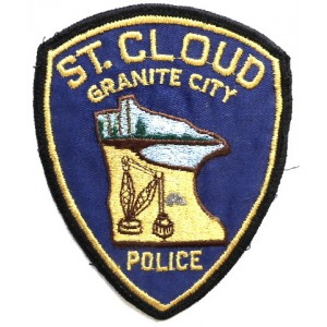 US St. Cloud Police Cloth Patch