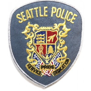 US Seattle Police Cloth Patch