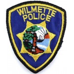 US Wilmette Police Cloth Patch