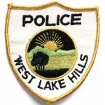 US West Lake Hills Police Cloth Patch