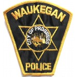 US Waukegan Police Cloth Patch