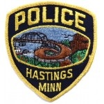 US Hastings Police Cloth Patch