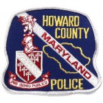 US Howard County Police Cloth Patch