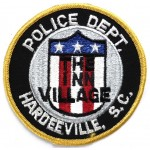 US Hardeeville S.C. Police Dept.Cloth Patch