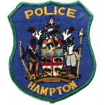 US Hampton Police Cloth Patch