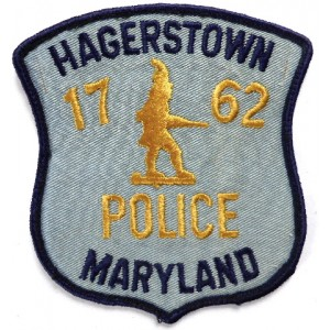 US Haggerstown Police Cloth Patch