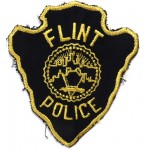 US Flint Police Cloth Patch