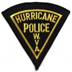 US Hurricane Police Cloth Patch