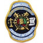 US Huntsville Police Cloth Patch