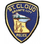 US St Cloud Police Cloth Patch