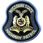 US Missouri State Highway Patrol Cloth Patch