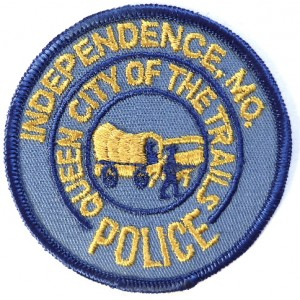US Independence Mo. Police Cloth Patch