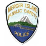 US Mercer Island Police Public Safety Cloth Patch