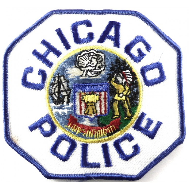 US Chicago Police Cloth Patch