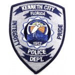US Kenneth City Florida Police Dept. Cloth Patch