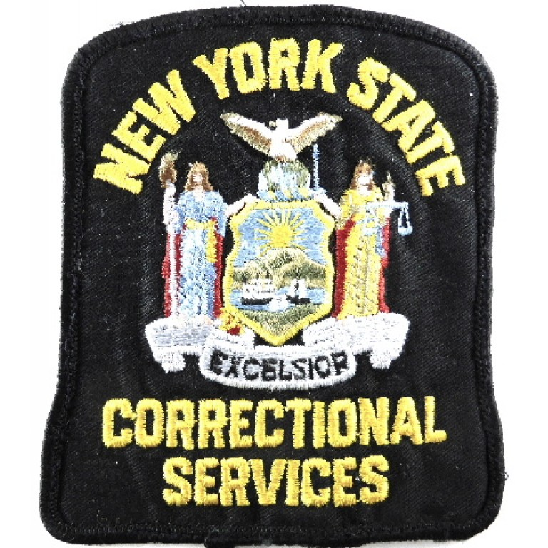 US New York State Correctional Services Cloth Patch