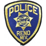 US Reno Nevada Police Cloth Patch