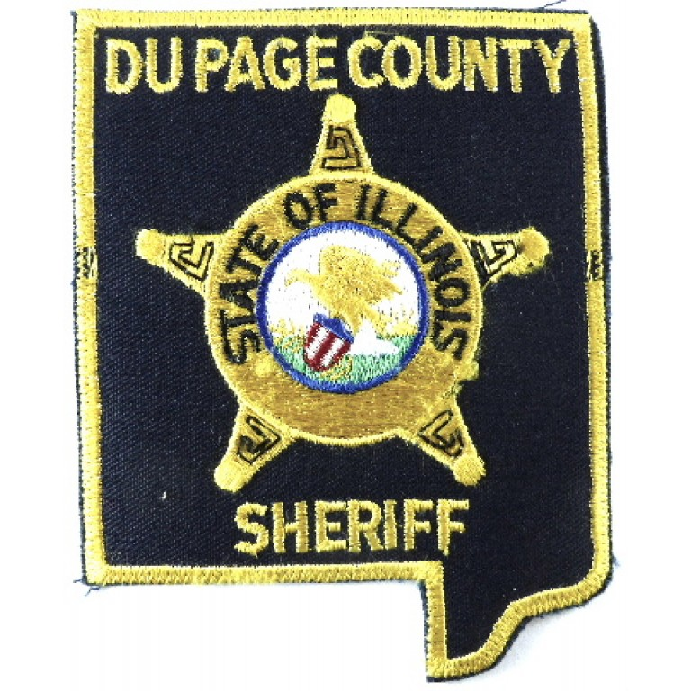 US Du Page County Sheriff Cloth Patch