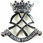 The Royal Yeomanry Bright Plated Cap Badge