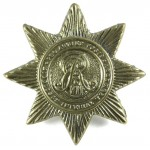 Middlesex Imperial Yeomanry Brass Cap Badge