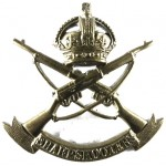 3rd County Of London Yeomanry Sharpshooters Brass Cap Badge