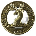 Lovat Scouts Imperial Yeomanry Brass Cap Badge