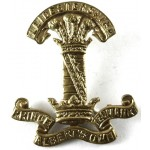 Leicestershire Yeomanry Brass Cap Badge.