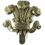 Denbigshire Hussars Brass Cap Badge