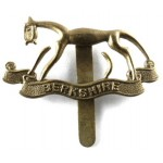 Berkshire Yeomanry Brass Cap Badge