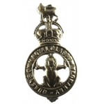 Queen`s Own Glasgow Yeomanry Brass Cap Badge