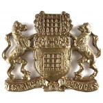 Westminster TY Dragoons Brass Cap Badge