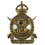 3rd County Of London Yeomanry Brass Cap Badge