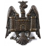 Bedfordshire Yeomanry Officers Bronze Cap Badge