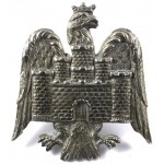 Bedfordshire Yeomanry White Metal Cap Badge