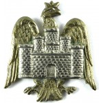 Bedfordshire Yeomanry Bi Metal Cap Badge
