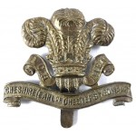 Cheshire Yeomanry Brass Cap Badge