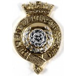 Duke Of Lancasters Own Yeomanry Anodised Aluminium Cap Badge