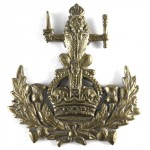 Royal Glasgow Yeomanry Brass Cap Badge