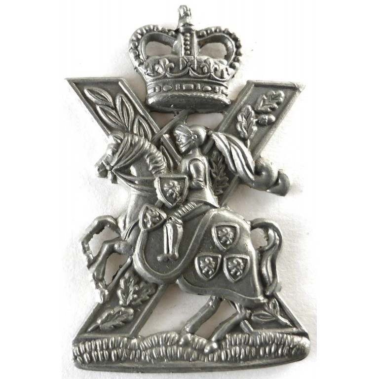 The Highland Yeomanry White Metal
