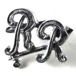 City Of London Rough Riders Chrome Beret Badge