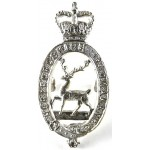 Hertfordshire Yeomanry Officers Silver Plated Cap Badge