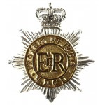 Middlesex Yeomanry E11R Officers Silver/Gilt